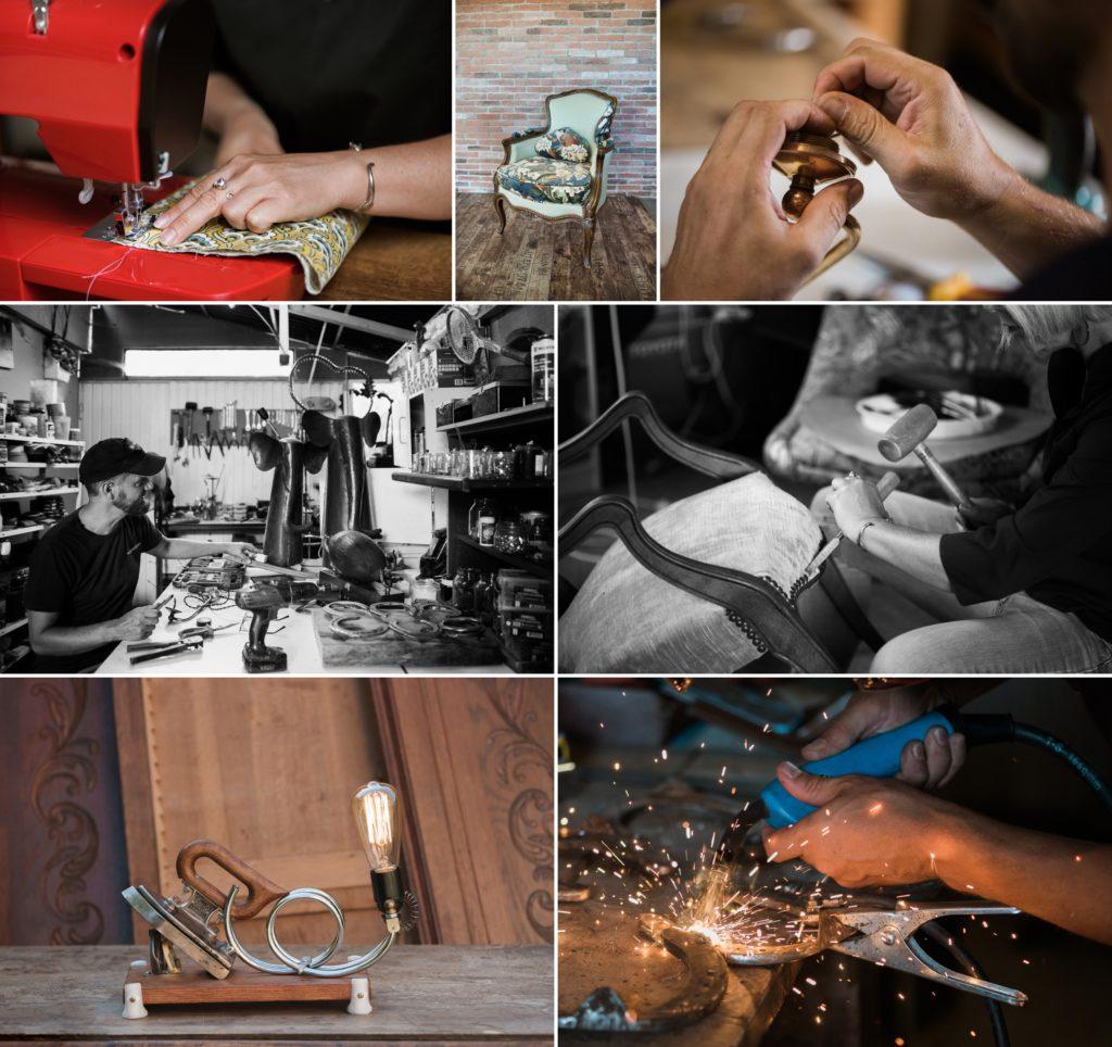 Photo professionnelle artisan createur entreprise dijon